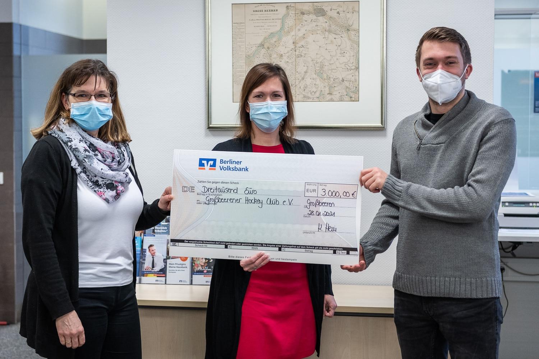 Berliner Volksbank spendet 3000€